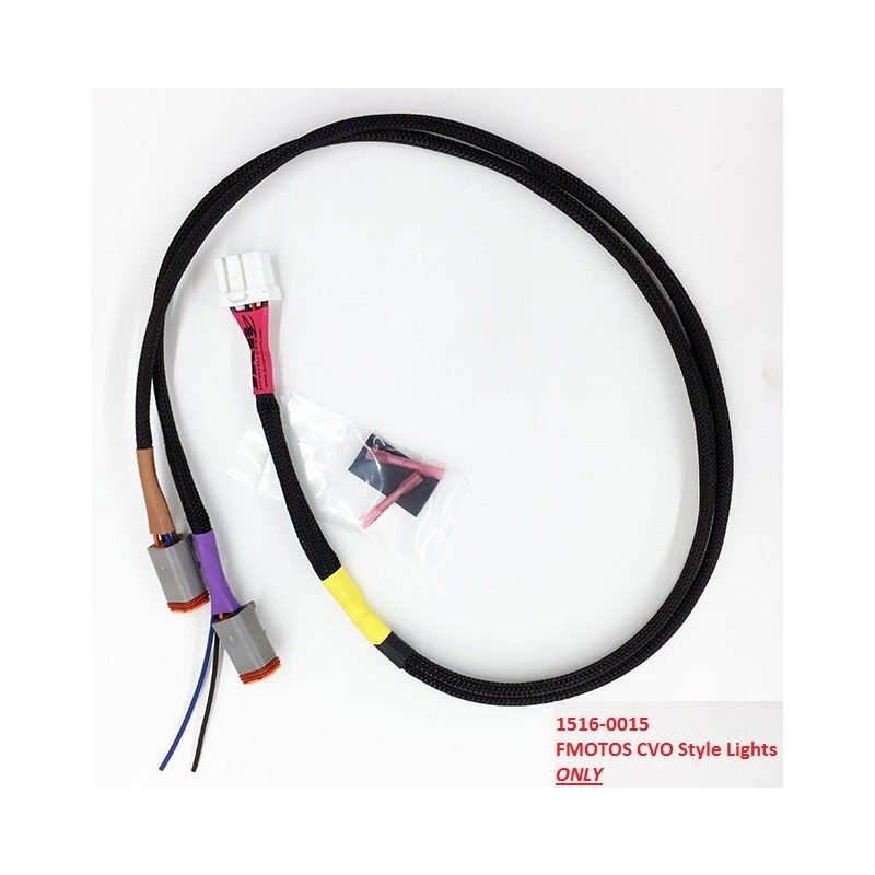 jarz products Custom Made Wiring Harness Sioux Falls 1996 2013 multi lock 8pin plug w fmotos cvo style lights Custom Wiring Harness for S10